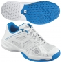 Wilson Rush Pro Junior Shoes (Wht/ Blu)