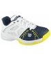 Wilson Rush Pro Junior Tennis Shoes (White/ Navy/ Yellow) - Wilson Rush Tennis Shoes