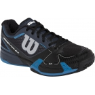 Wilson Mens Rush Pro 2.0 Hardcourt Tennis Shoes (Coal/Black/Denim) - Men's Tennis Shoes