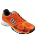 Wilson Men's Rush Evo Tennis Shoes (Orange/ Black) - Wilson Tennis Shoes