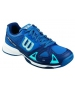 Wilson Junior Rush Pro Tennis Shoes (Blue/ Navy) - Wilson Tennis Shoes