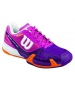 Wilson Women's Rush Pro 2.0 Tennis Shoes (Pink/ Plum/ Orange) - Wilson Tennis Shoes