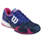 Wilson Women's Rush Pro 2.0 Tennis Shoes (Blue Iris) - Types of Tennis Shoes