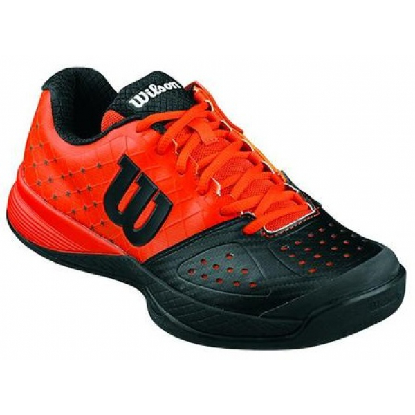 wilson glide junior tennis shoes black from do