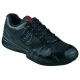 Wilson Men's Rush Pro 2.0 Tennis Shoes (Black) - 6-Month Warranty Shoes