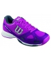 Wilson Women's Rush Evo Tennis Shoes (Pink/ Plum/ Coal) - Wilson Tennis Shoes