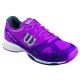 Wilson Women's Rush Evo Tennis Shoes (Pink/ Plum/ Coal) - Wilson