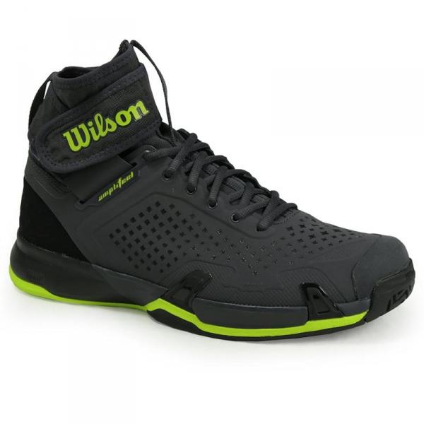Wilson Amplifeel Ebony Black Lime Men S Shoe