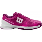 Wilson Junior Rush Pro 2.5 Tennis Shoes (Very Berry/White/Dark Purple) - Tennis Shoes for Kids