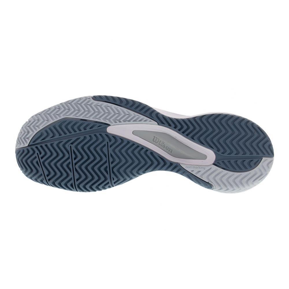 Wilson Men's Rush Pro 3.0 Tennis Shoes (White/Pearl Blue/Bluestone)