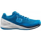 Wilson Men's Rush Pro 3.0 Tennis Shoes (Imperial Blue/White/Brilliant Blue) - 6-Month Warranty Shoes