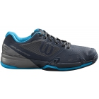 Wilson Men's Rush Pro 2.5 Tennis Shoes (Blueberry/Quiet Shade/Hawaiian Surf) - Types of Tennis Shoes