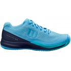 Wilson Women's Rush Pro 3.0 Tennis Shoes (Alaskan Blue/Peacoat/Scuba Blue) - Women's Tennis Shoes