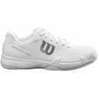 Wilson Men's Rush Pro 2.5 Tennis Shoes (White/White/Pearl Blue) - How To Choose Tennis Shoes