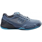 Wilson Men's Rush Pro 2.5 Tennis Shoes (Flint Stone/Ebony/Ultra Blue) - Wilson Tennis Shoes