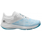 Wilson Women's Kaos 3.0 Tennis Shoes (White/White/Niagara) - Women's Tennis Shoes