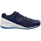 Wilson Men's Rush Pro 3.0 Tennis Shoes (Peacoat/White/Lapis Blue) - Wilson Tennis Shoes