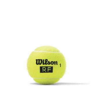 Wilson RF Legacy Tennis Ball Can (4 Balls)