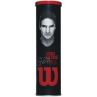 Wilson RF Legacy Tennis Ball Can (4 Balls) - Tennis Gift Ideas - Performance Racquets, Bags, Shoes and Apparel