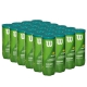 Wilson US Open Green Tournament Transition Tennis Ball Case (72 Balls) - Cases of Tennis Balls