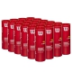 Wilson US Open Red Tournament Transition Tennis Ball Case (72 Balls) - Cases of Tennis Balls