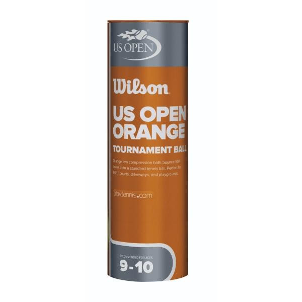 Wilson US Open Orange Tournament Transition Tennis Ball Case (72 Balls)