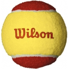 Wilson US Open Red Felt Tennis Balls (3 Pack) - Junior Red Felt Outdoor Training Tennis Balls