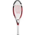 Wilson Steam 23 Junior Tennis Racquet - Tennis Racquets For Kids 7 & 8 Years Old