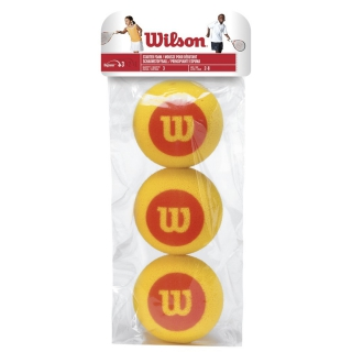 Wilson US Open Red Foam Tennis Balls (3 Pack)