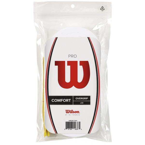 Wilson Pro Overgrip 30 Pack (White)