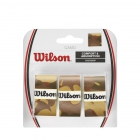 Wilson Brown Camo Tennis Racquet Overgrip (3 Pack) - Tacky Over Grips