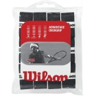 Wilson Advantage Overgrip 12-pack (Blk) - Wilson Over Grips