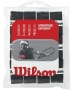 Wilson Advantage Overgrip 12-pack (Blk) - Tennis Over Grips