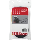 Wilson Advantage Overgrip 30-pack (Blk) - Tennis Over Grips