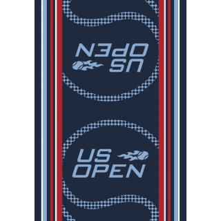 Wilson 2013 US Open Authentic Towel (Navy/ Red)