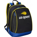 Wilson US Open Tennis Backpack (Black/Blue/Yellow) - - Best Selling Tennis Gear. Discover What Other Players are Buying!