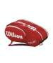 Wilson Tour Mini 6 Pack Tennis Bag (Red/ White) - Wilson Tour Series Tennis Bags