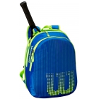 Wilson Junior Tennis Backpack (Neptune Blue/Solar Lime) - Wilson Junior Tennis Racquets, Bags, Shoes and More
