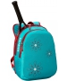 Wilson Junior Tennis Backpack (Light Blue/Red) - Junior Tennis Bags & Backpacks