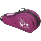 Wilson Junior Match 3 Pack Tennis Bag (Pink) - 3 Racquet Tennis Bags