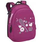 Wilson Junior Match Tennis Backpack (Pink) - Wilson Collection Tennis Bags