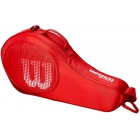Wilson Junior 3 Pack Tennis Bag (Red) - - Best Selling Tennis Gear. Discover What Other Players are Buying!
