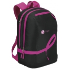 Wilson Hope Tennis Backpack (Black/ Pink) - Wilson Collection Tennis Bags