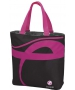 Wilson Hope Tote (Black/ Pink) - Wilson Women's Series Tennis Bags