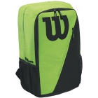 Wilson Match III Tennis Backpack (Green/Black) - Tennis Racquet Bags