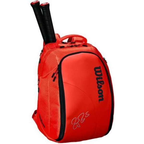 Wilson Federer DNA Tennis Backpack (Infared)