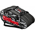 Wilson Super Tour Camo 3 Compartment Tennis Bag - 9 and 12+ Racquet Tennis Bags