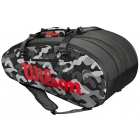Wilson Super Tour Camo 3 Compartment Tennis Bag - Wilson Tour Tennis Bags