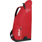 Wilson Federer Team Collection Tweener Bag (Red/ Black) - Wilson Federer Tennis Bags