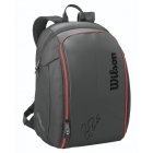 Wilson Federer DNA Tennis Backpack (Black) - Wilson Federer Tennis Bags